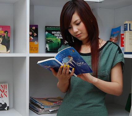 reading book, book festival, reading hobby, reading culture, vietnamese