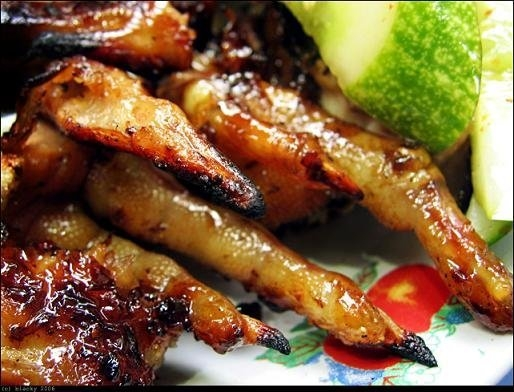 cuisines in central highland vietnam, grilled chicken in central highland