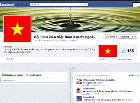facebook, avatar, online community, vietnamese flag, netizen, april 30, may day