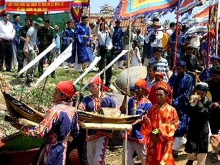 Hoang Sa sailors, traditional ceremony, Hoang Sa Flotilla
