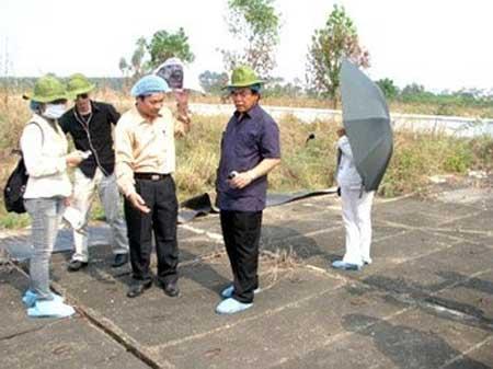 Dong Nai, dioxin-contaminated soil, Bien Hoa Airport area