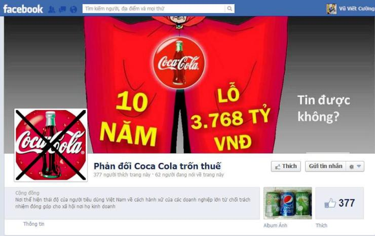 Vietnam, Coca-Cola, transfer pricing, tax agency, tax evasion