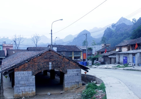 Dong Van town was built in the early 20th century.