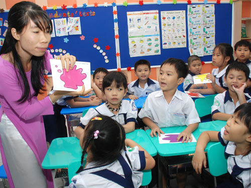 Vietnam, English teaching, national program, primary school, Filipino teachers