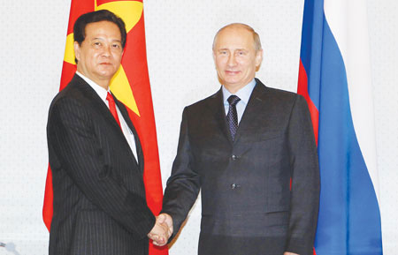 PM Dung meets with President Putin to wind up official Russia visit