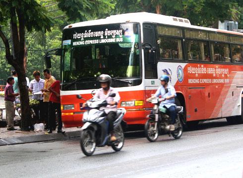 cambodian bus, coach, driver, casino, gamble