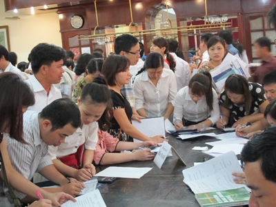 MOET glad because fewer students want higher education - News VietNamNet