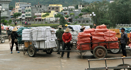 Vietnam, Vietnam-China two-way trade, trade deficit, low quality imports