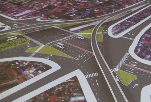 o cho dua intersection, overpass, flyover, dan xa tac