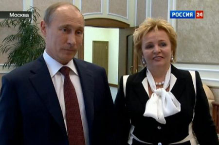 Russian President Putin, wife announce divorce