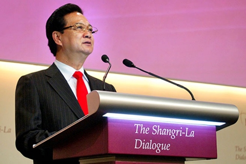 PM nguyen tan dung, Shangri La Dialogue, strategic trust, security