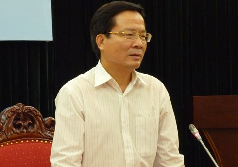 Deputy Minister of Science and Technology Le Dinh Tien.
