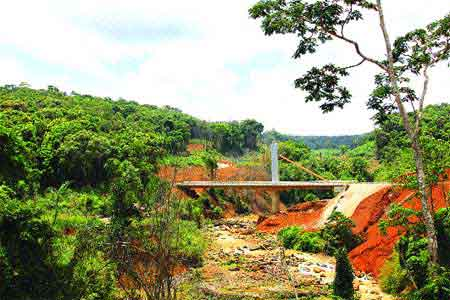 Kon Tum, Mang Den Eco-tourism area, exotic wildlife, lush forests