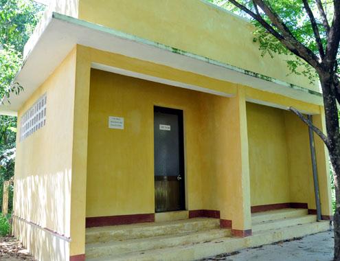school toilet, project, quang ngai, corruption