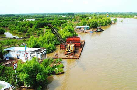Ca Mau, underground water, clean water sources