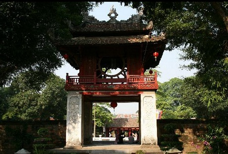 The Temple of Literature.