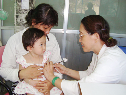 WHO recommends Vietnam to reuse 5-in-1 vaccine