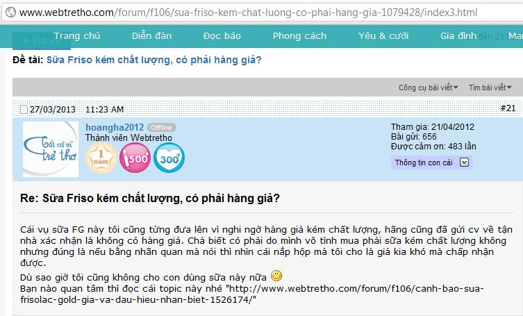 Online forums become a threat to VN businesses