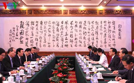 Vietnam, China, bilateral relations, agro-forestry, fisheries