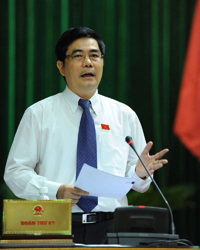 cao duc phat, national assembly, deputy, question, agricultural production