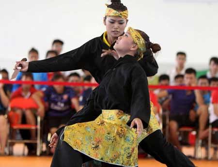 Pencak silat, ASEAN Schools Games, Nguyen Thi Anh Vien