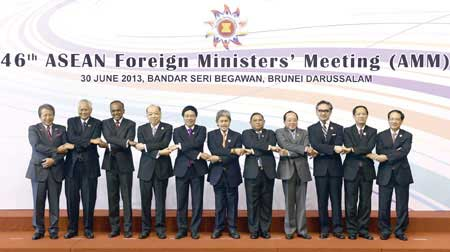 ASEAN foreign ministers, East Sea, UNCLOS, DOC