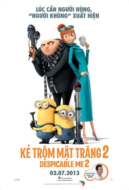 15 movies for Vietnamese audience in July