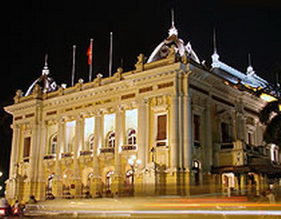 The Hanoi Opera House.  The council will approve the list of the ancient streets, craft villages, old mansions and buildings built before 1954 that must be preserved.