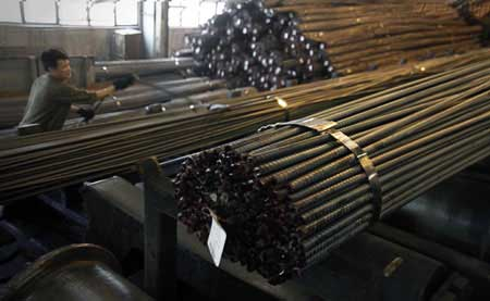 Steel, real estate market, market prices