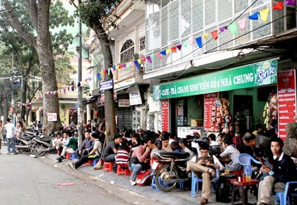 The Most Famous Streets For Sidewalk Cafes In Hanoi News