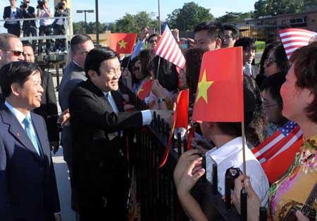 Viet Nam, US, high-level delegations, human rights, religious freedom