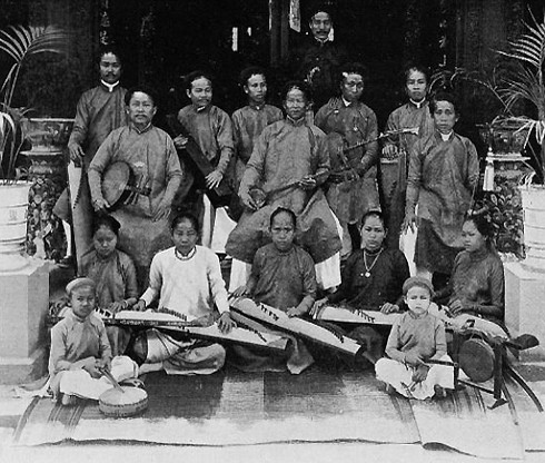 The band of Mr. Nguyen Tong Trieu. File photo