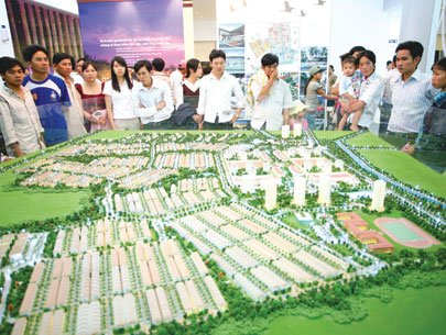 real estate giants, estate market, housing projects