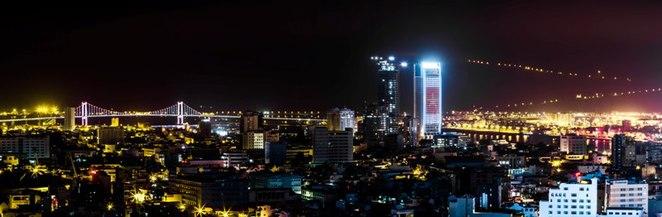 Da Nang at night.