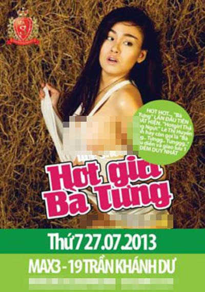 ba tung, ban, performance, show, online celebrity
