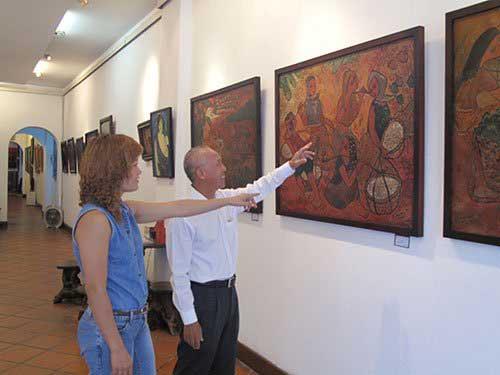 Mekong landscapes, exhibition, folk games, countryside markets
