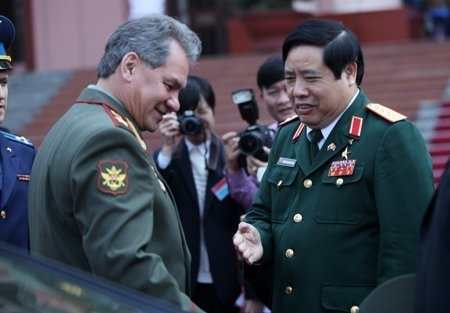 vietnam-russia, military cooperation, phung quang thanh, relationships