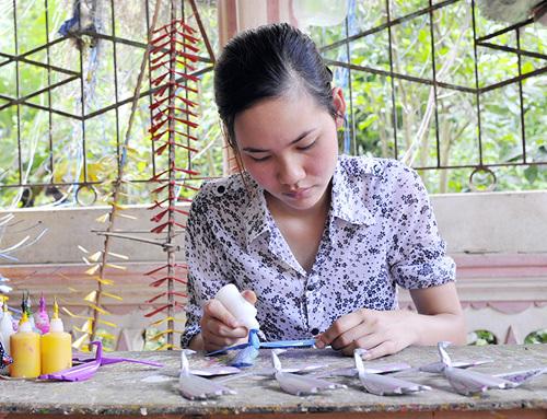 tay phuong village, bamboo dragonfly