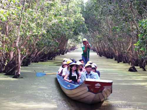 Mekong Delta, Tra Su Cajuput Forest, Cao Lanh-Tram Chim Tam Nong National Park, flood season