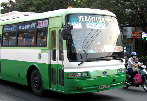 Busses in HCM City to offer free wifi internet