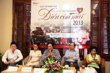 Top singers to perform in VietNamNet Concert