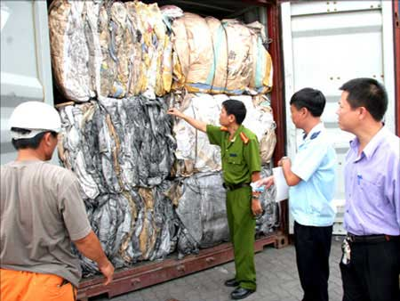 Viet Nam, toxic waste, illegally imported, re-export