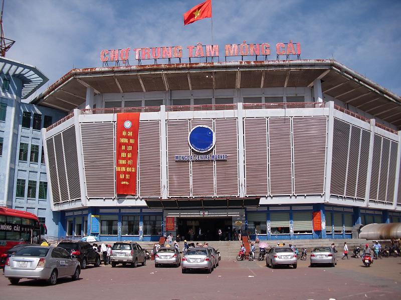 mong cai city, tra co, border gate, market, bac luan