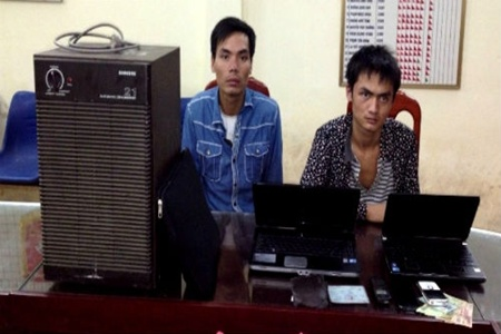 Men arrested for stealing gene research devices