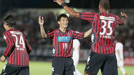 Cong Vinh scores for Consadole Sapporo