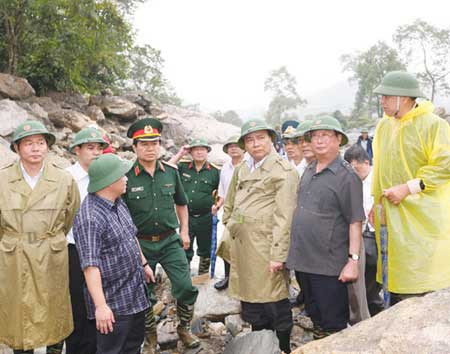 Flash floods, northern provinces, Lao Cai, Lang Son