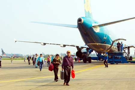 Vietnam Airlines, domestic aviation market, Vinh City, Nghe An