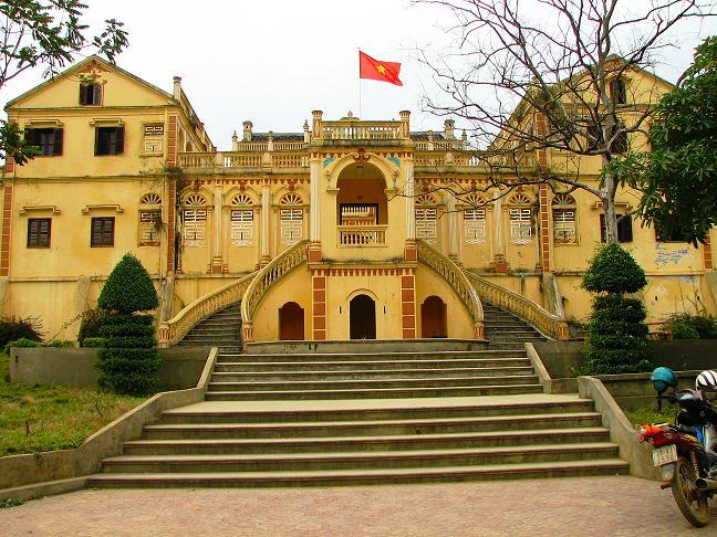 bac ha, hoang a tuong mansion, hoang a tuong palace