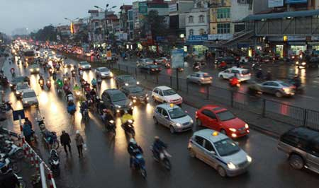 Major cities, Ha Noi, HCM, Traffic Safety, private sector, traffic jams