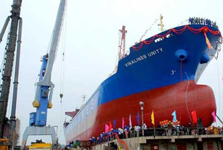 Vinashin, work contracts, shipbuilding industry